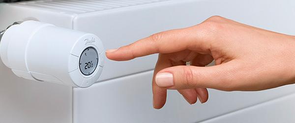 управление термостатом Danfos