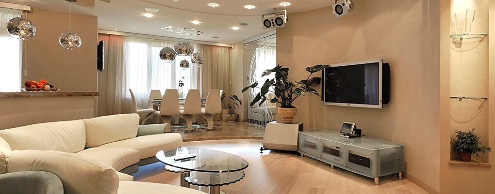 умный дом в гостиной