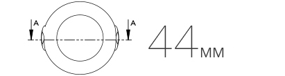 точные размеры датчика движения