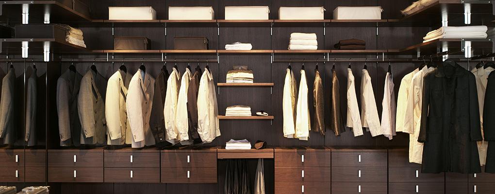 умный дом в гардеробной